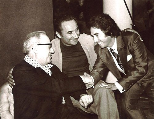Con Alonso y Messiaen